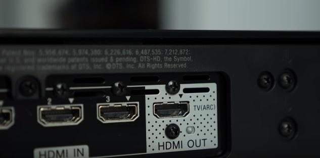 HDMI ingang soundbar